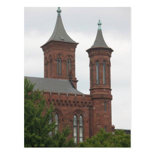 The Smithsonian, Washington D.C. Postcard