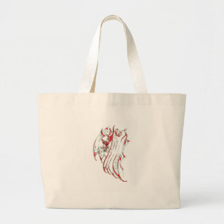 The Smoke Dragon Jumbo Tote Bag