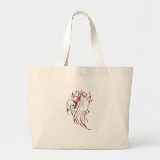 The Smoke Dragon Tote Bags