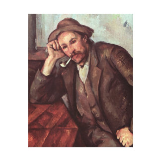 The Smoker, 1891-92 Canvas Print