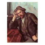The Smoker, 1891-92 Postcard