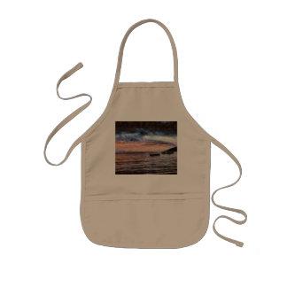 The smoldering ocean kids apron