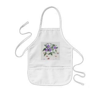 The snail nannies kids apron
