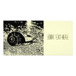 The Snail Photo Card Template