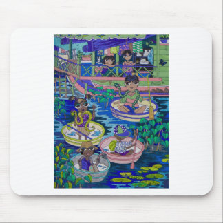 The Snake kids, Siem Reap Mouse Pad