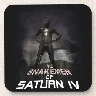 The Snakemen Of Saturn IV Drink Coaster