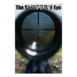 THE SNIPER'S EYE POSTERS