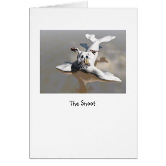 The Snoot Greeting Card