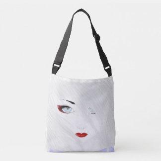 The Snow Geisha Crossbody Bag