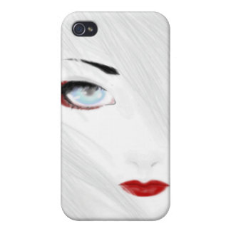 The Snow Geisha iPhone 4/4S Covers
