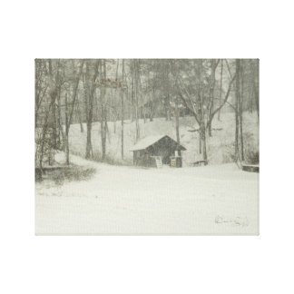 The Snow House Canvas Print