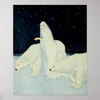 The Snow Maiden Gathering Broken Hearts Poster