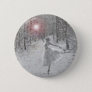 The Snow Queen 6 Cm Round Badge