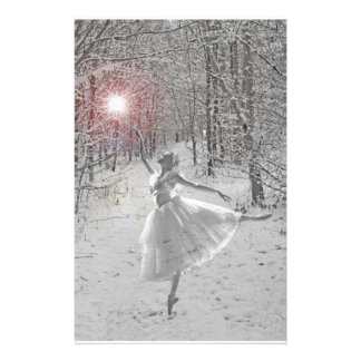 The Snow Queen Customized Stationery