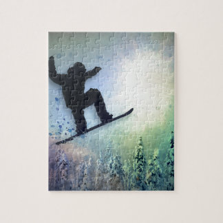 The Snowboarder: Air Jigsaw Puzzle