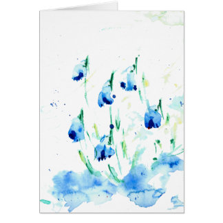 ''The snowdrops'' Card