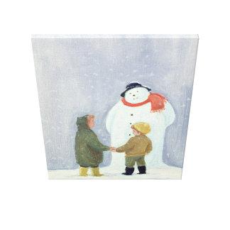 The Snowman 2 Canvas Print
