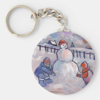 THE SNOWMAN KEY RING