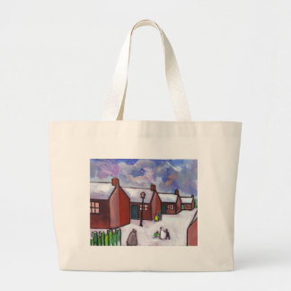 THE SNOWMAN TOTE BAG