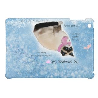 The Snowshoe Cat Case For The iPad Mini
