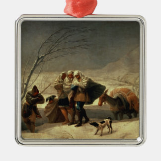 The Snowstorm, 1786-87 Christmas Ornament