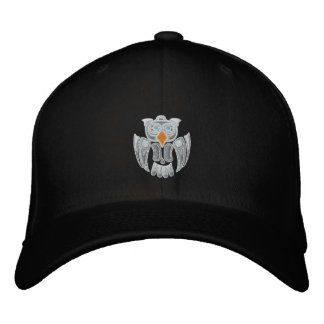 The  Snowy Owl Embroidered Hat