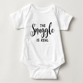 The Snuggle Is Real Baby Vest Baby Bodysuit