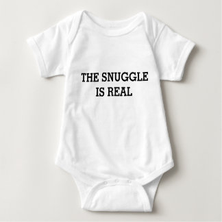 The Snuggle is Real: Funny Baby Baby Bodysuit