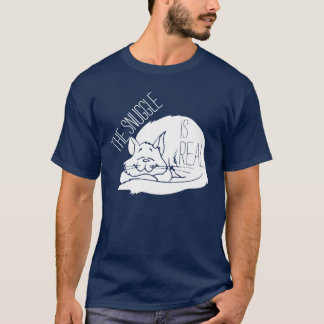The snuggle is real sleeping cat shirt