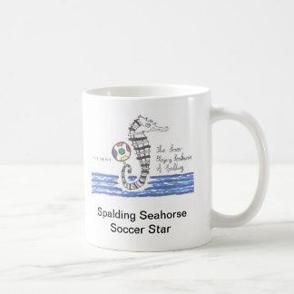 The Soccer Playing Seahorse of Spalding Mug