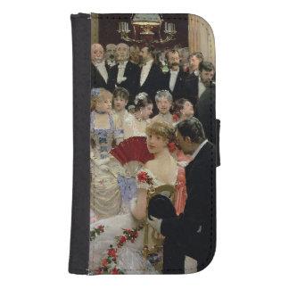 The Soiree, c.1880 Samsung S4 Wallet Case