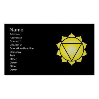 The Solar Plexus Chakra Business Cards