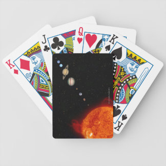 The Solar System 2 Bicycle Playing Cards
