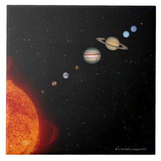 The Solar System 2 Tile
