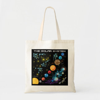 The Solar System Tote Bags