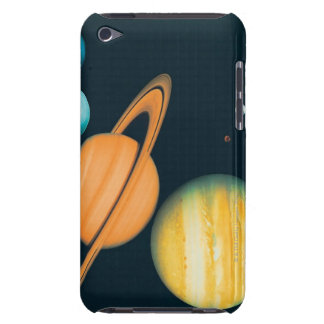 The Solar System Barely There iPod Cover