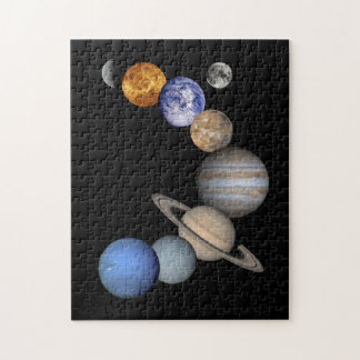 The Solar System Jigsaw Puzzle