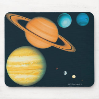 The Solar System Mouse Mat