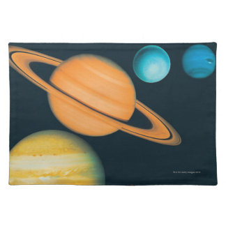 The Solar System Place Mat