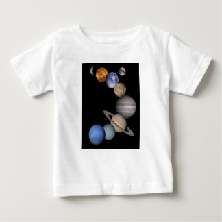 The solar system range our planets baby T-Shirt