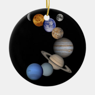 The solar system range our planets christmas ornament