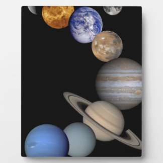 The solar system range our planets plaque