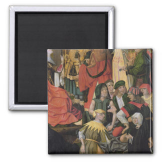 The Soldiers Drawing Lots for Christ's Clothes Fridge Magnet