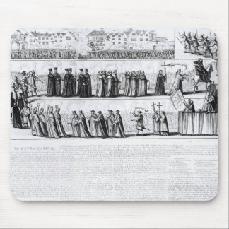 The Solemn Mock Procession Mouse Pad