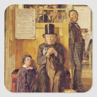 The Solicitor's Office, 1857 Square Sticker