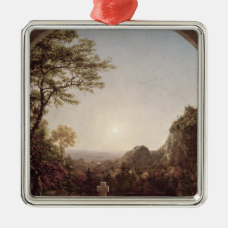 The Solitary Cross, 1845 Christmas Ornament
