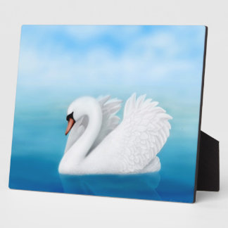 The Solitary Mute Swan Plaque