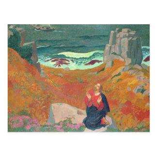 The Solitude of Christ, 1918 Postcard