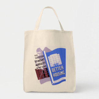 The Solution to Infant Mortality in the Sums Grocery Tote Bag