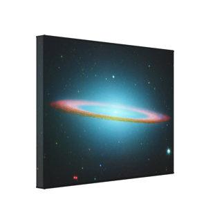 The Sombrero Galaxy - Infrared Gallery Wrap Canvas